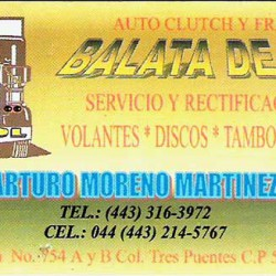 Auto Clutch y Frenos Balata de Oro img-0