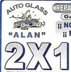 Logo de Auto Glass Alan