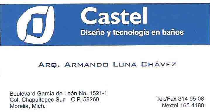 Cabinas De Baño Castel:Inicio » Negocios » Construcción » Azulejos y Pisos » Castel