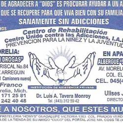 Centro de Rehabilitación, Centro Unido Contra las Adicciones img-0