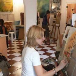 Clases de Dibujo y Pintura con el Prof. Fernando Voirol img-0