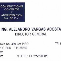 Construcciones, Contratos y Administración S.A de C.V img-0