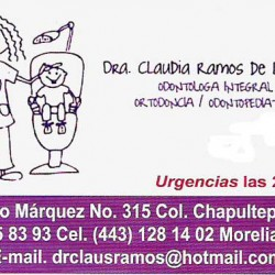 Dra. Claudia Ramos de la Rosa img-0