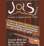 Logo de Guitarras Jols