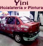 Logo de Hojalatería y Pintura Yini