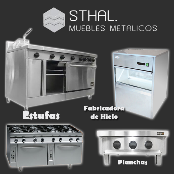 Cocinas industriales sthal en morelia - Muebles de cocina metalicos ...