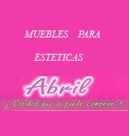 Logo de Muebles para Estéticas Abril