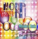Logo de Pasteles Caseros Mona RA