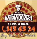 Logo de Pizza Memon's