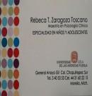 Logo de Psic. Rebeca T. Zaragoza Toscano