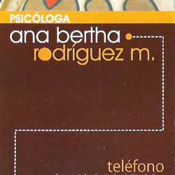 Psicologa Ana Bertha Rodriguez img-0