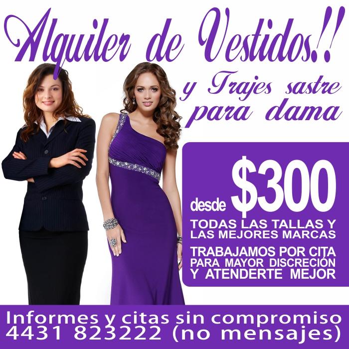 Lujoso Vestidos De Fiesta En Renta Colección - Vestido de Novia Para ...