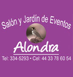Logo de Salón y Jardín para Eventos Alondra