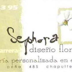 Sephora diseño floral. img-0