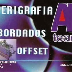 Serigrafía, Bordados y Offset AB Team. img-0