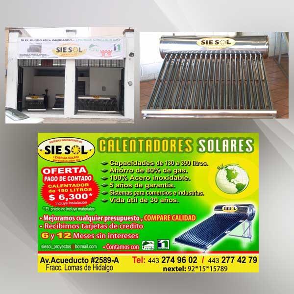 Calentador Solar Precio Toluca Precios Y Recomendaciones