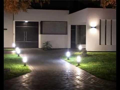 T cnico electricista en morelia Iluminacion decorativa para exteriores
