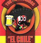 """Logo de Tortas Ahogadas """"El Chile"""""""