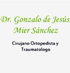 Logo de Traumátologo y Ortopedista Dr. Gonzalo de Jesús Mier Sánchez