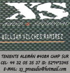 Logo de XS Audio Seguridad