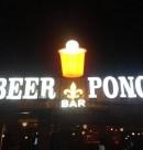 Logo de Beer Pong Bar en Morelia