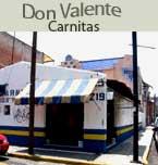 Logo de Carnitas Don Valente
