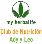 Logo de Club de Nutrición de Ady y Leo