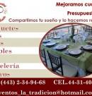Logo de Banquetes la Tradición