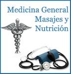 Logo de Medicina General, Masajes y Nutrición