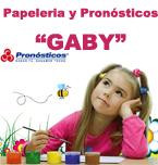 Logo de Papelería y Pronósticos GABY