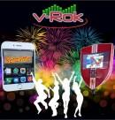 Logo de Rockolas V-ROK