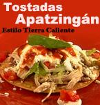 Logo de Tostadas Apatzingán
