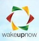 Logo de Wake up now