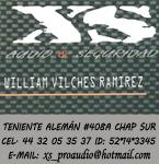 Logo de XS Audio Seguridad